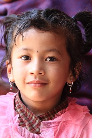 Girl from Nepal