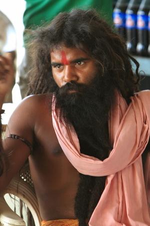 Holy Sadhu of India Stock Photo - 28681303