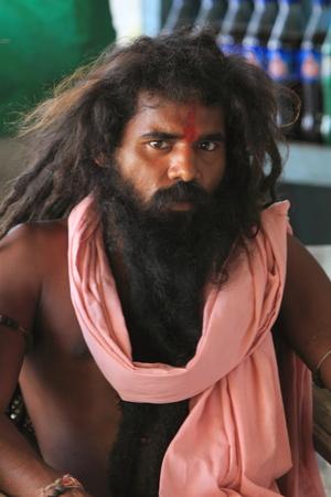Holy Sadhu of India Stock Photo - 28681305