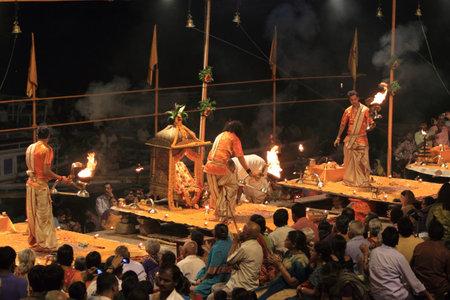 benares: The Holy Hindu Ceremony in Varanasi India