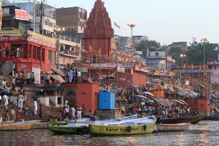 reincarnation: The Holy Ghats of Varanasi in India