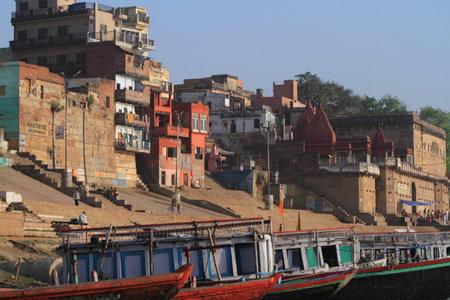 benares: The Holy Ghats of Varanasi in India
