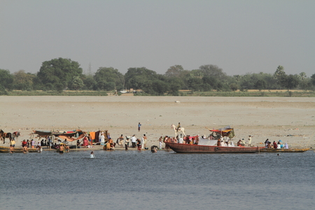 ganges: Fishing Boats at the Ganges