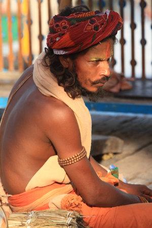 sadhu: Holy Sadhu in Varanasi