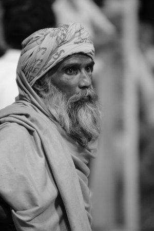Holy Sadhu in Varanasi Stock Photo - 29517192