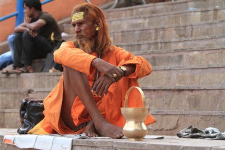 Holy Sadhu in Varanasi