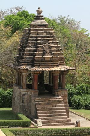 khajuraho: The Temple City of Khajuraho in India Stock Photo