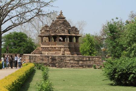 khajuraho: The Temple City of Khajuraho in India Editorial
