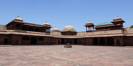 fatehpur: The Palace of Fatehpur Sikri in India