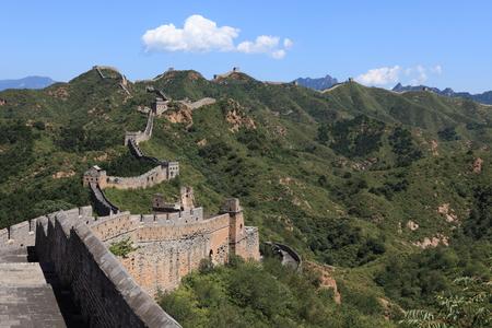 jinshanling: The Great Wall of China Jinshanling Stock Photo