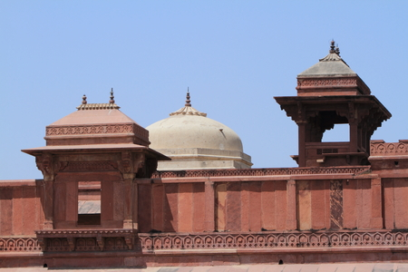 fatehpur sikri: The Palace of Fatehpur Sikri in India