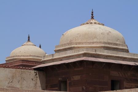 The Palace of Fatehpur Sikri in India photo