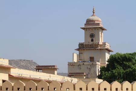 maharaja: The City Palace of Jaipur India Stock Photo