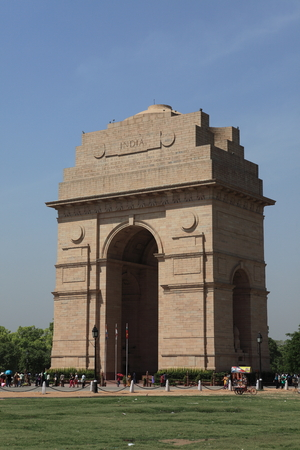 india gate: The India Gate in New Delhi India