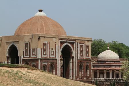 minar: The Qutab Minar in Delhi India Stock Photo