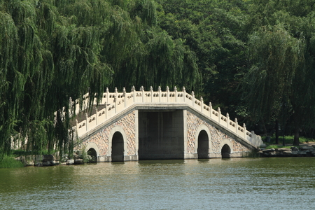 the summer palace: Bridges of the Summer Palace in Beijing