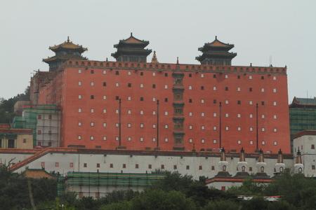 potala: The Potala Palace of Chengde in China Stock Photo
