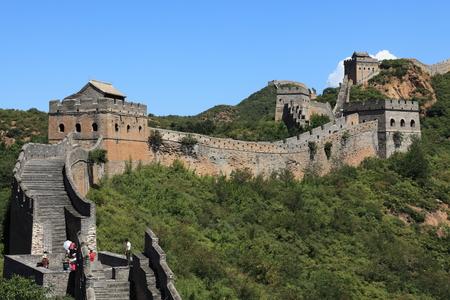 The Great Wall of China Jinshanling Stock Photo