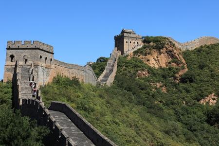 the great: The Great Wall of China Jinshanling Stock Photo