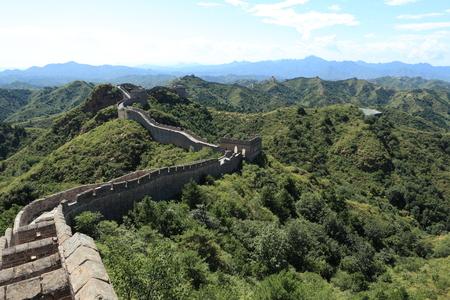 badaling: The Great Wall of China Jinshanling Stock Photo