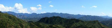 jinshanling: The Landscape of Jinshanling in China Stock Photo