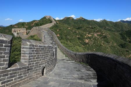 badaling: The Great Wall of China Jinshanling close to Jinshanling