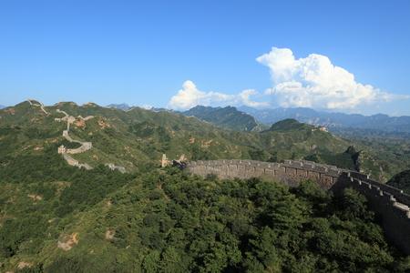 bulwark: The Great Wall of China Jinshanling close to Jinshanling