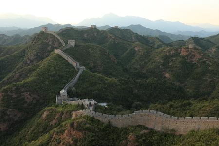 The Great Wall of China Jinshanling close to Jinshanling photo