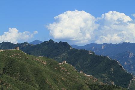 The Great Wall of China close to Jinshanling photo