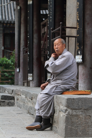 monks: Buddhism Monks in China
