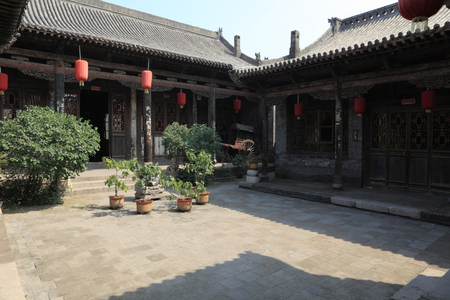 The ancient City of Pingyao in China Editorial