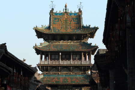 The City of Pingyao in China Stock Photo