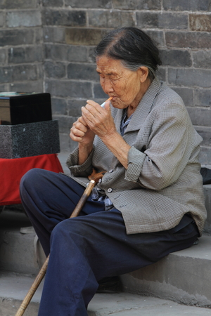 mujer china: Mujer china