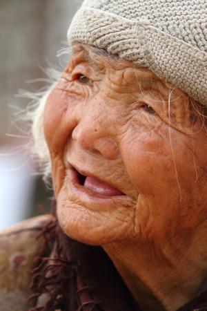 중국에서 온 늙은 여자