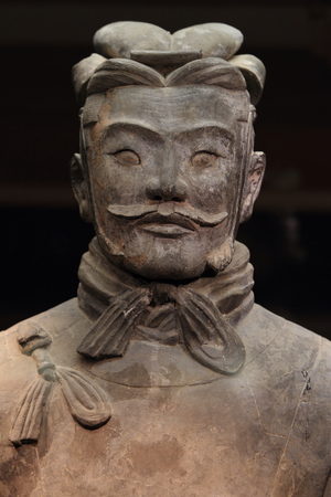 The Terracotta Army of Xian in China