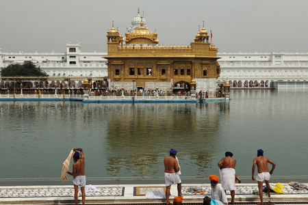 amritsar: The Golden Temple of Amritsar in India Editorial