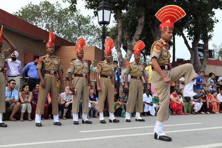wagah: The Border Ceremony of Attari in India Editorial
