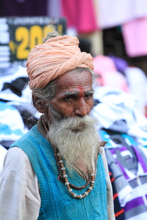 sadhu: Holy Sadhu in India