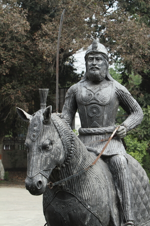 monument in india: Equestrian Monument of Amritsar in India