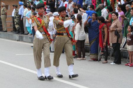 wagah: The Border Ceremony of Attari between India and Pakistan
