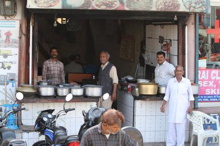 amritsar: The Street Market of Amritsar in India