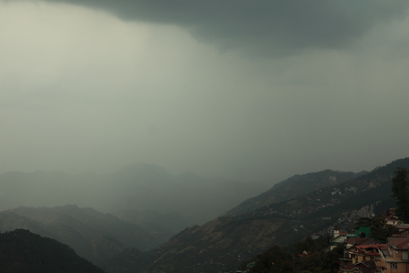 precipitation: Rainy season in India