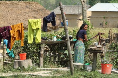 farmer woman in Nepal