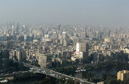 smog: The City of Cairo in the smog