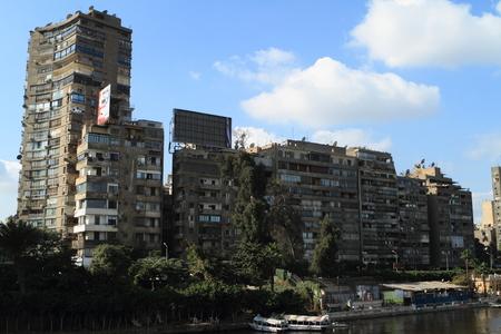 the nile: Cairo at the Nile