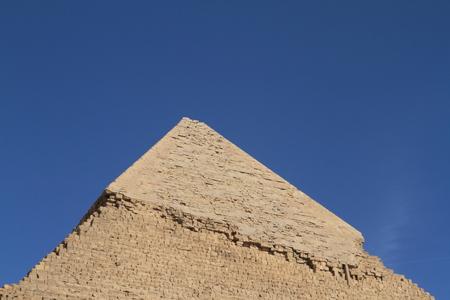 esfinge: Las Pir�mides y Esfinge de Egipto Foto de archivo