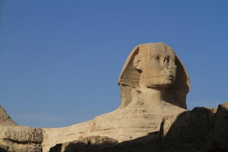 sphinx: The Pyramids and Sphinx of Egypt Foto de archivo
