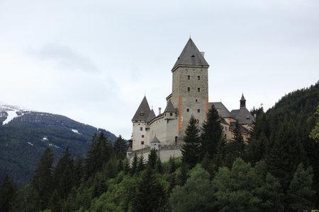 Moosham Castle in Austria Editorial