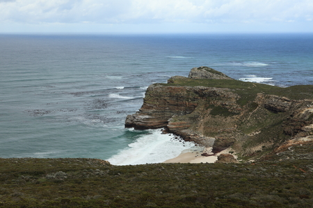 cape of good hope: The scenery at the Cape of Good Hope in South Africa Stock Photo