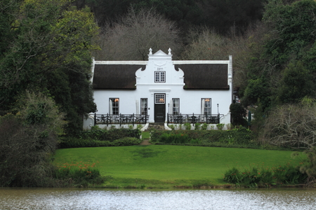 town idyll: Villa in South Africa